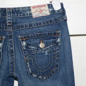 True religion 503 womens jeans sz 26 Short   -2997